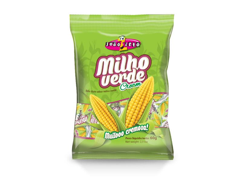 Bala Dura de Milho Verde